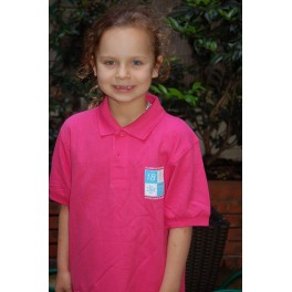 Polo Enfant Fuschia